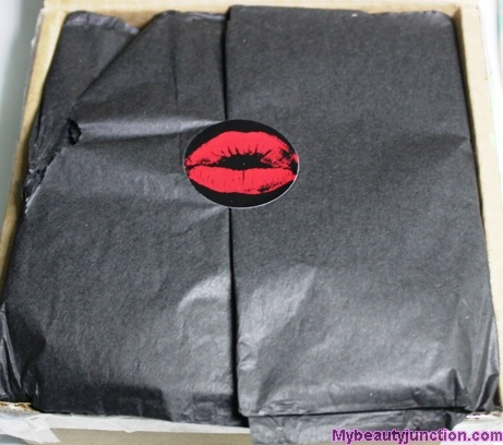 Lip Factory beauty box April 2014 unboxing, review