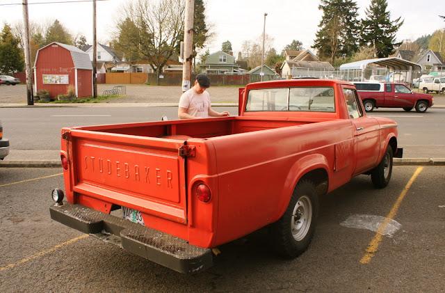 1962 Studebaker Champ pickup.