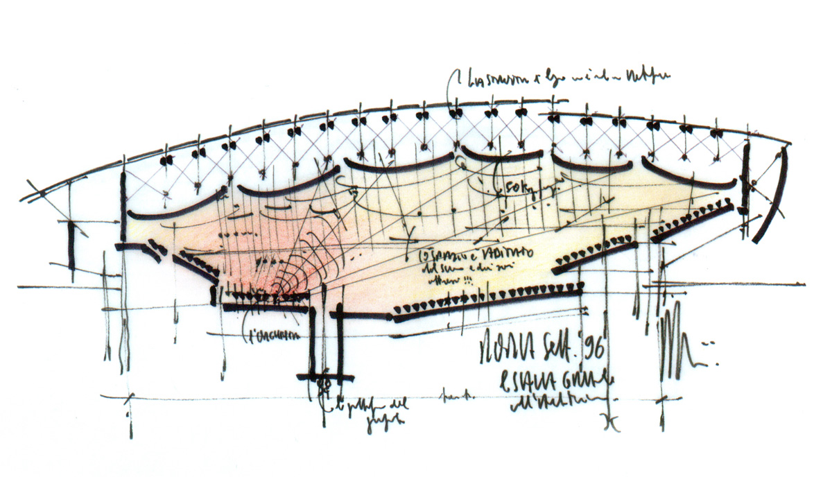 Renzo piano croquis para pensar para dise ar para for Croquis un libro de arquitectura para dibujar pdf