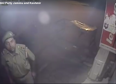 The sub-inspector, who was caught on camera stealing two CFL bulbs from a shop in Jammu, is said to be mentally ill.    The video, which had recorded his act, had gone viral.