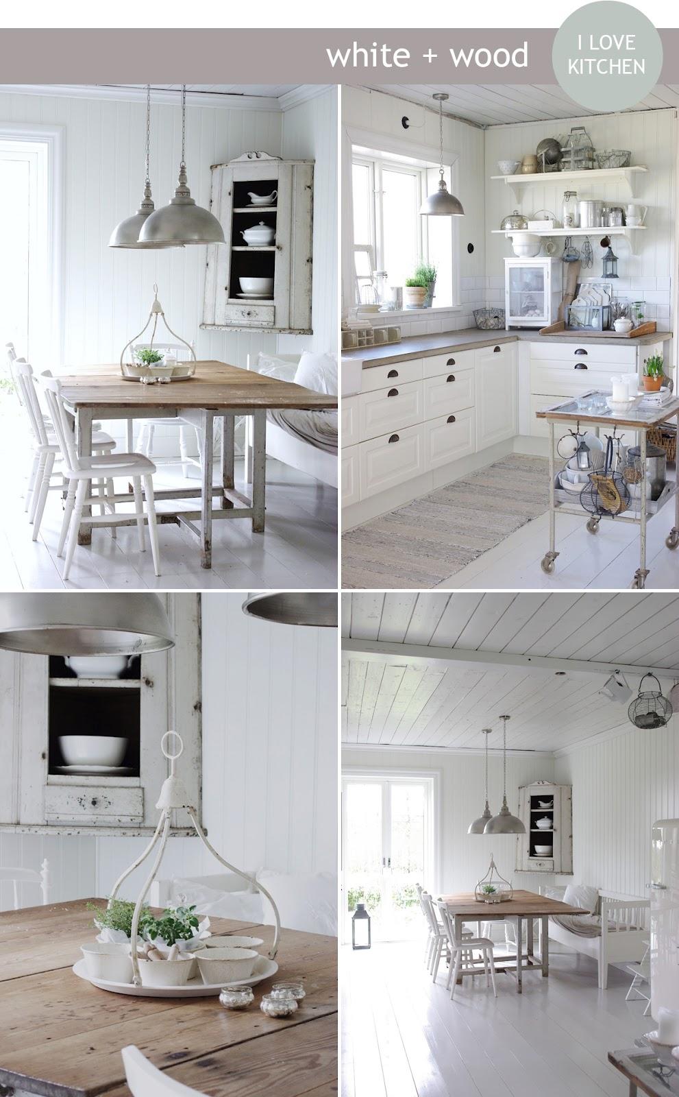 Stile nordico semplice e originale shabby chic interiors for Arredamento stile nordico