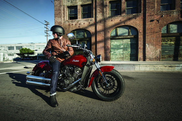 2016 Indian Motorcycle Scout Sixty red