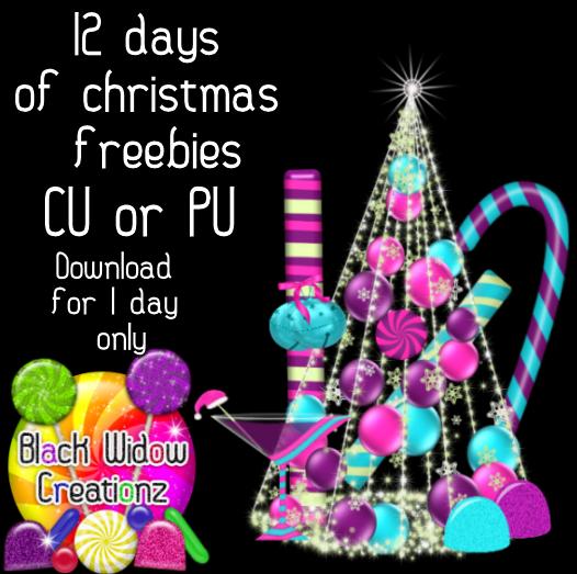 Black Widow Creationz: 12 Days of Christmas Freebies