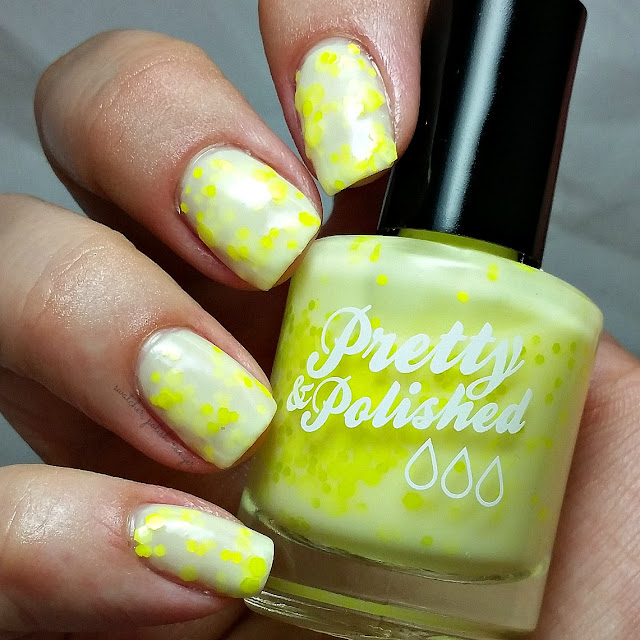 swatcher, polish-ranger | Pretty & Polished You Say Goodbye, I Say Yellow swatch