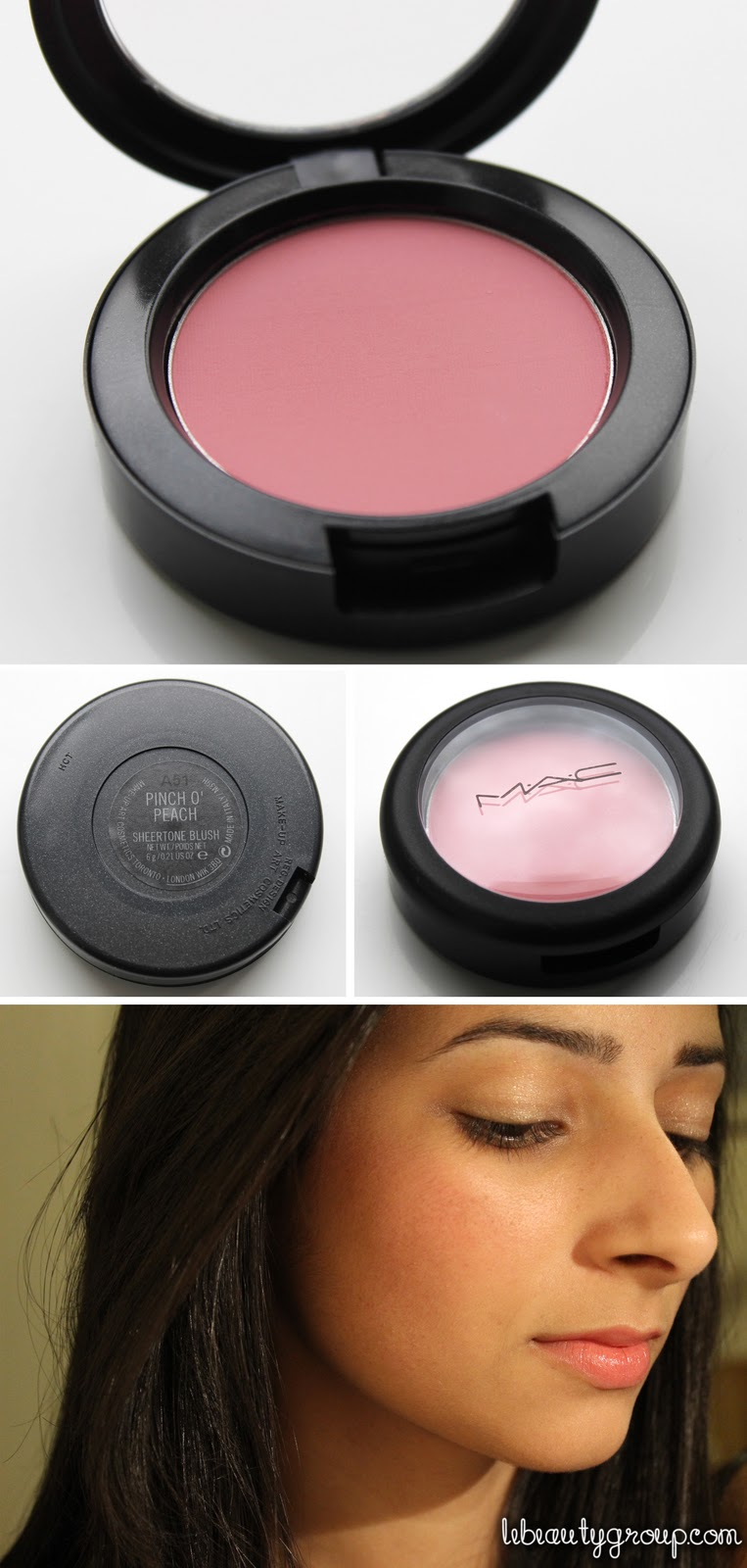 Fabuleux MAC Pinch O' Peach Sheertone Blush (Review + Swatches) RZ47