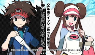 Pokemon Black 2 Characters