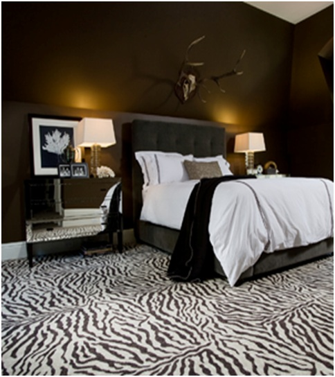 Zebra Print Bedroom Decor