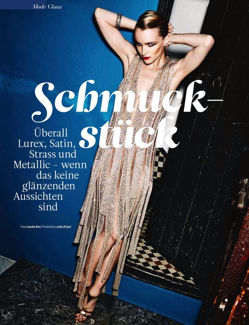 Sarah Seewer HQ Pictures Myself Germany Magazine Photoshoot March 2014