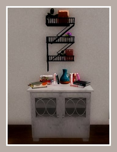 Art Books 1 And 2 Stack Standing Decorative Jar Wood Duck Items Sold Separately Shelf Park Place