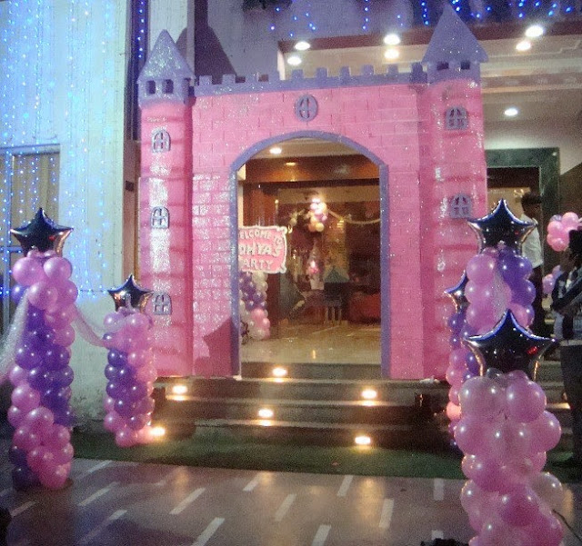 Extravagant Pirthday Parties Pakistan - Princess theme