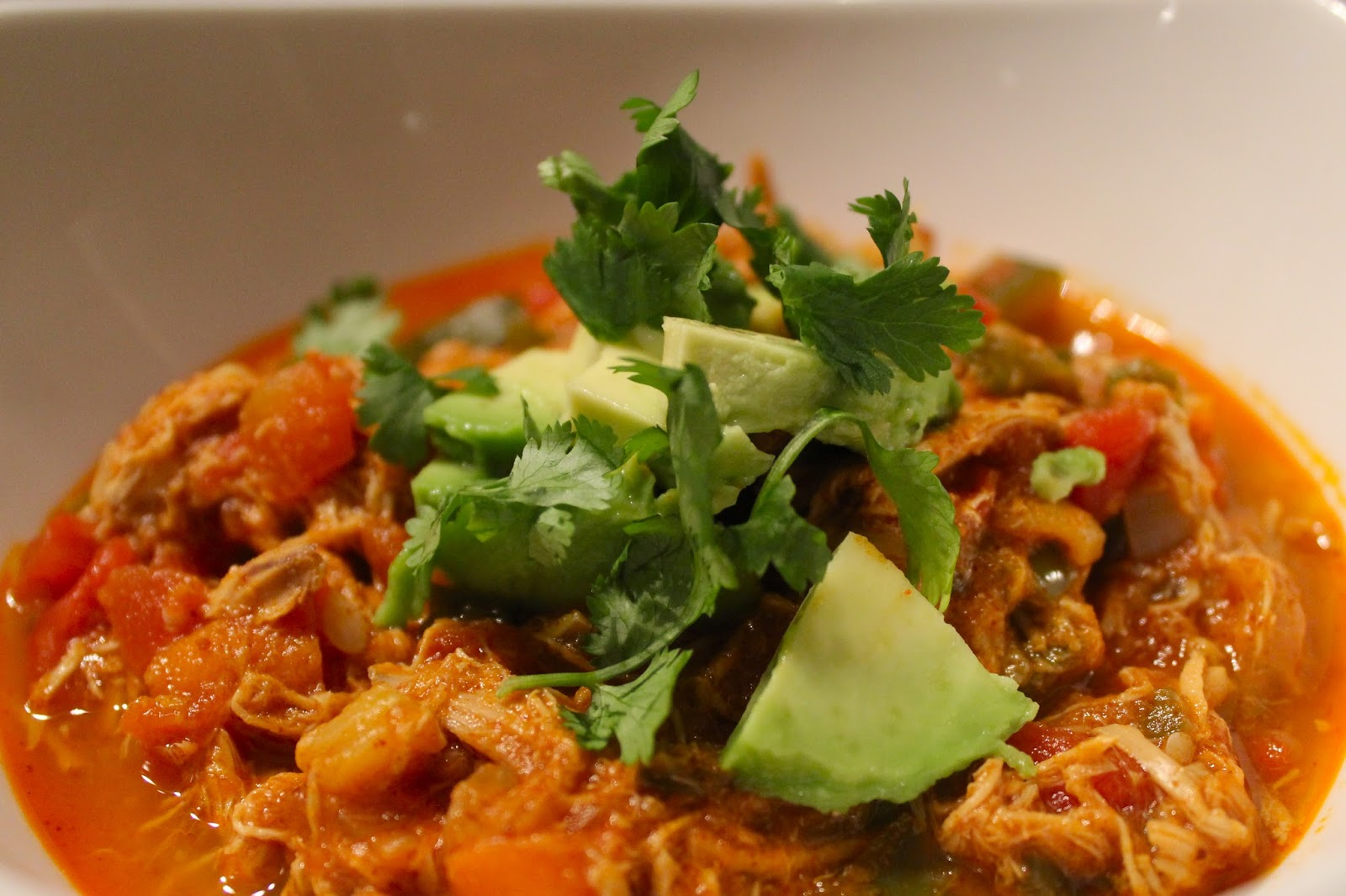 Paleo Chicken Chili Recipe