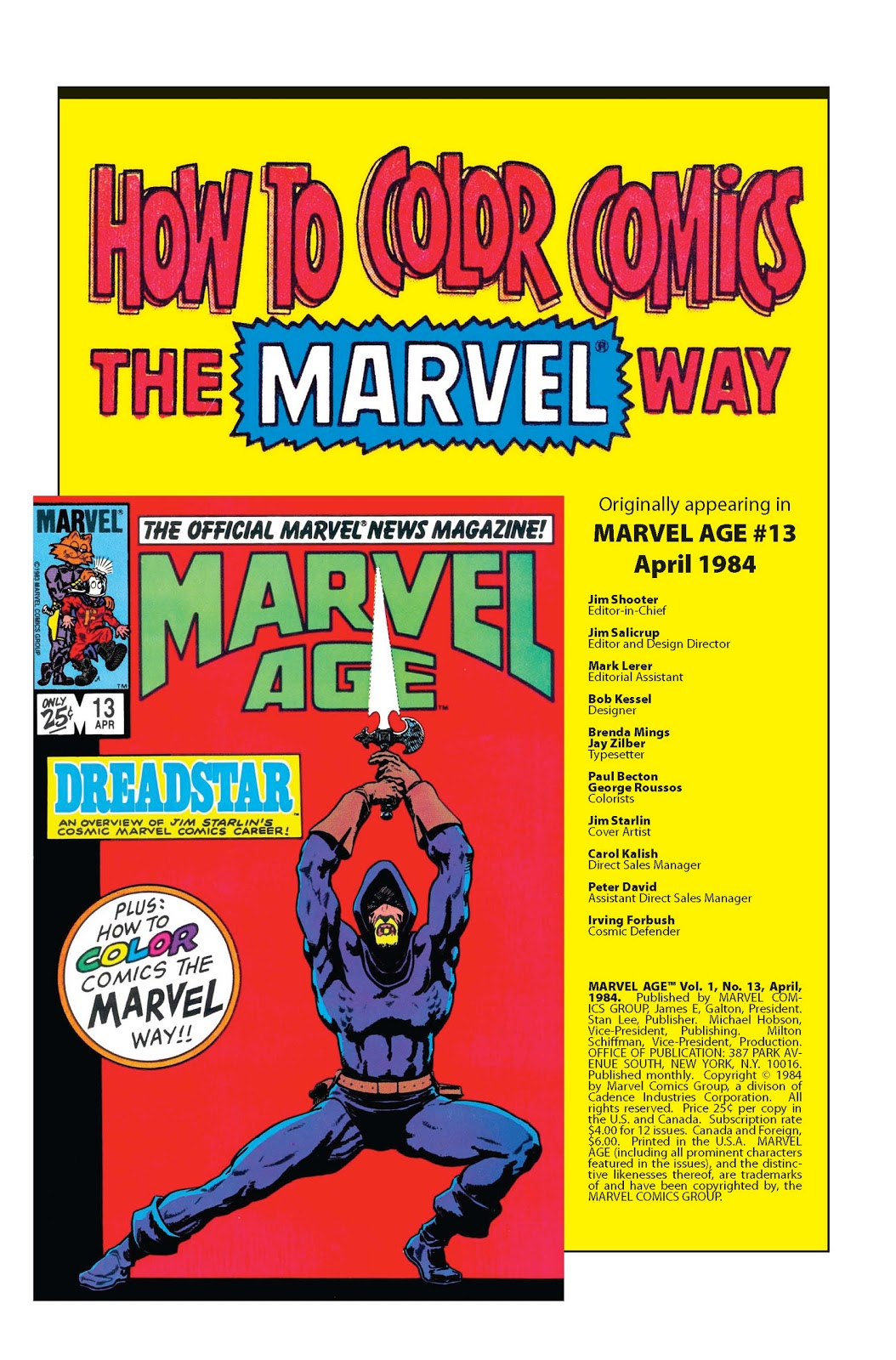 DeeSaturate: How to color Comics the Marvel way