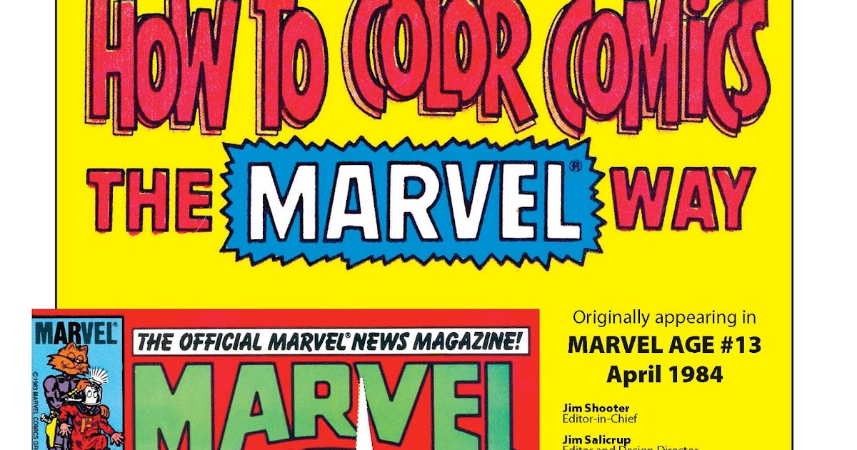 learn to draw comics the marvel way pdf