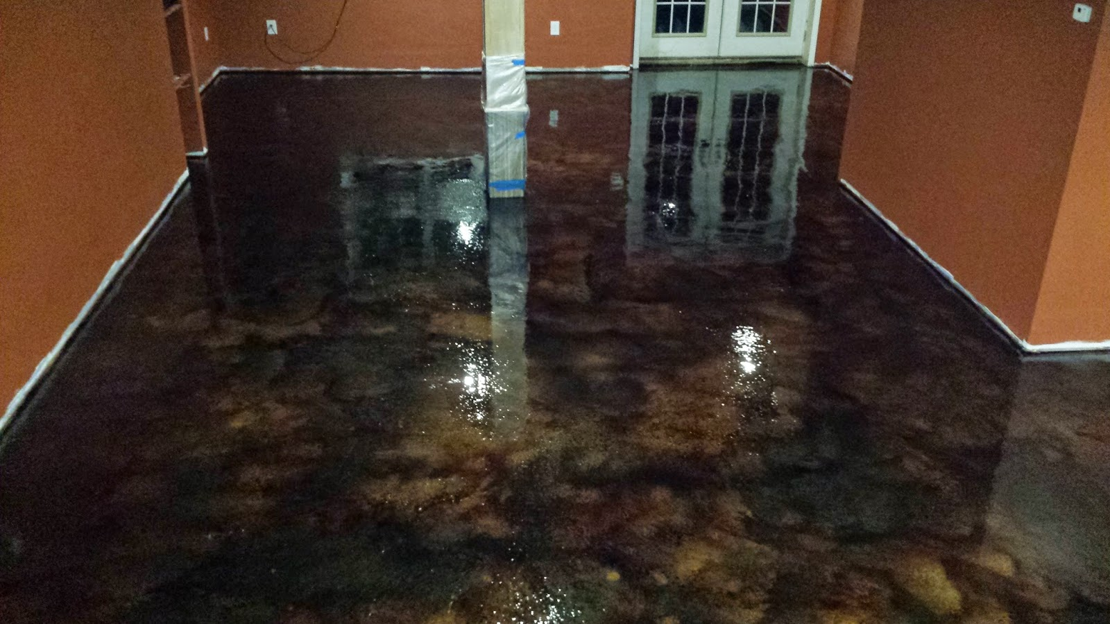 Legacy industrial 39 s blog site basement floor stain and seal for Bare floor meaning