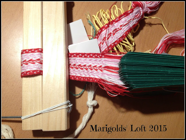 Back strap weaving