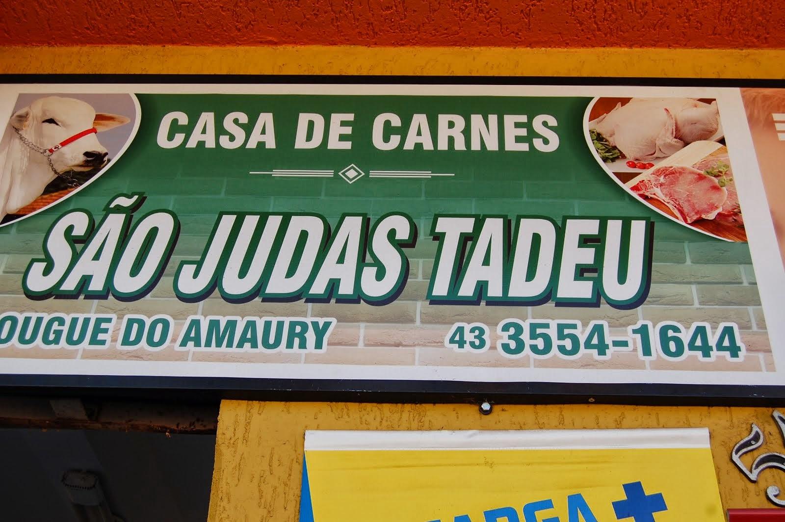 CASA DE CARNES SÃO JUDAS TADEU( AÇOUGUE DO AMAURY..