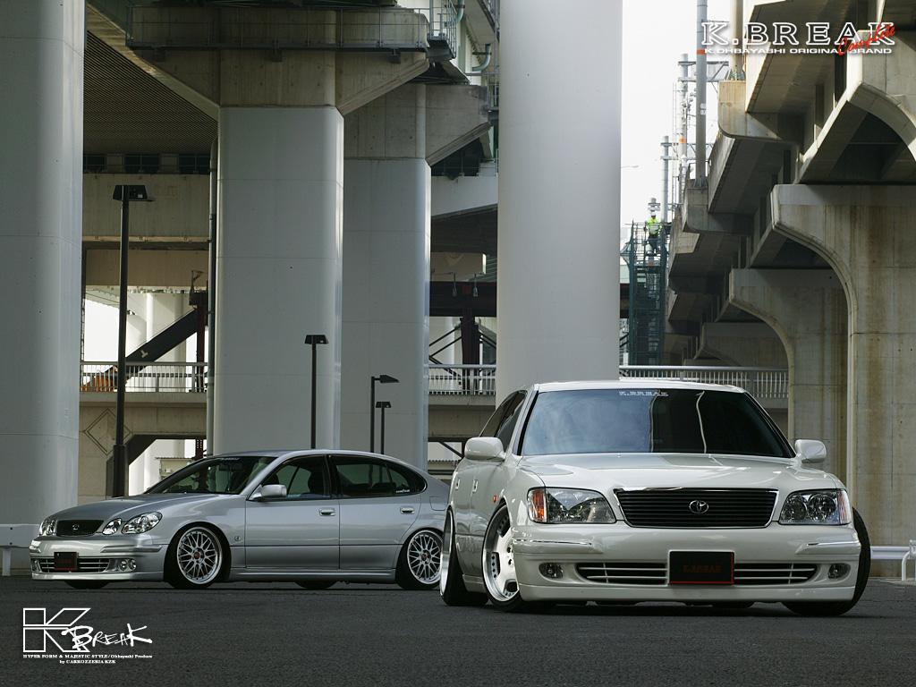 Toyota Aristo S160 & Toyota Celsior