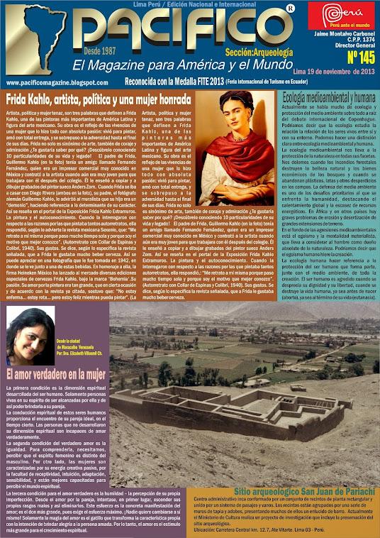 Revista Pacífico Nº 145 Arqueología