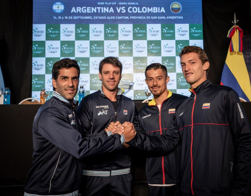 DAVIS CUP - ARGENTINA 2 COLOMBIA 0