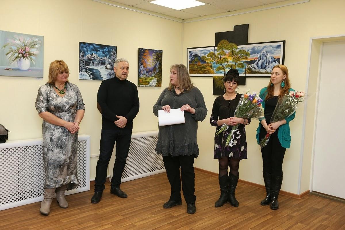 personal art exhibition by Natalya Zhdanova