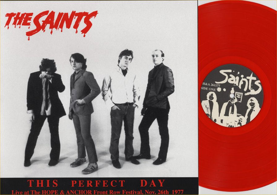 Rock On Vinyl The Saints This Perfect Day Live 1977