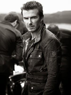 Belstaff com David Beckham campanha coleção primavera verão 2014