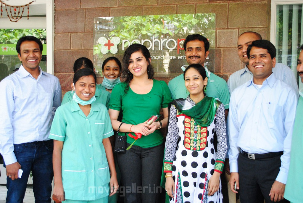 , Archana Veda at Nephroplus Dialysis Center Hyderabad