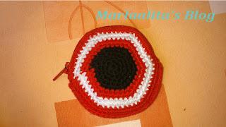 monedero, crochet, ganchillo, bilbao