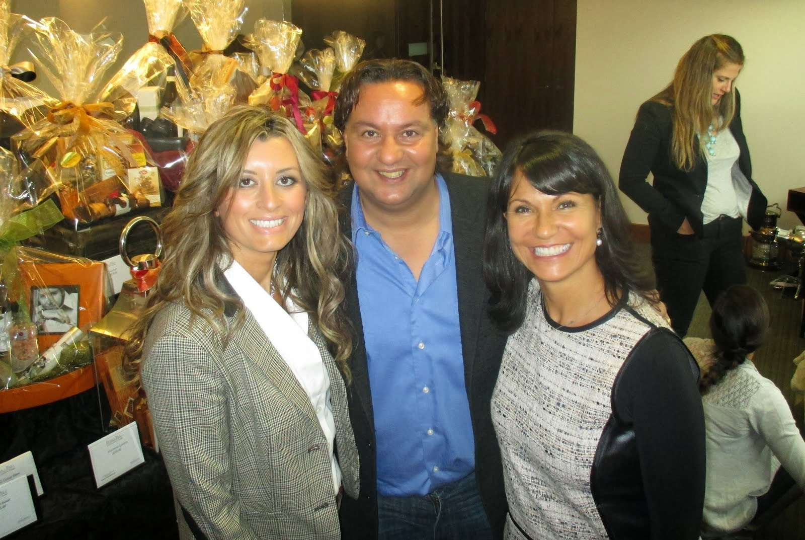 Founder of P&P, Anna Eliopoulos and Tony Monaco