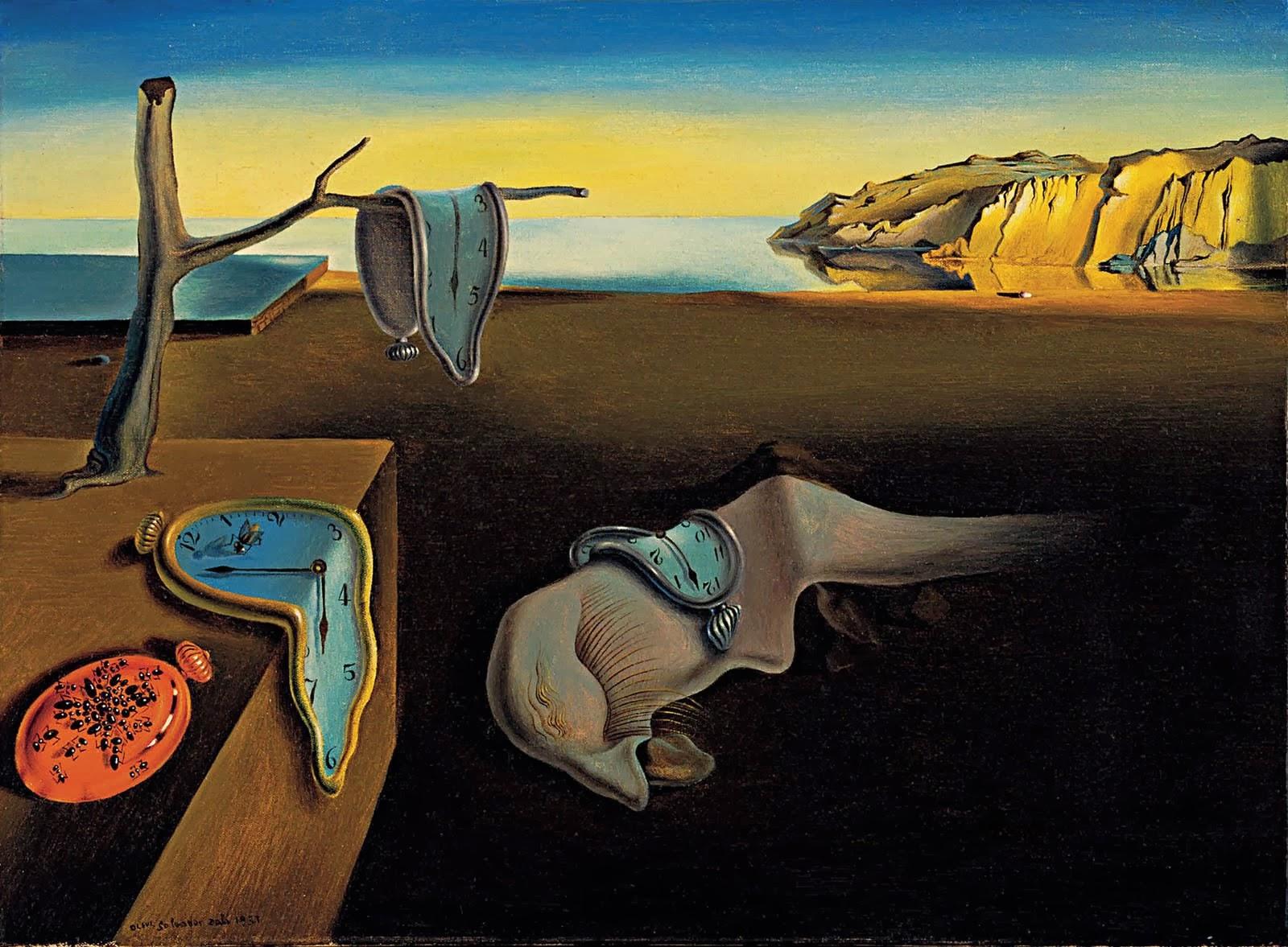 A persistência da memória- Dali