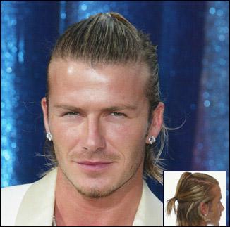 Extream Fashion David Beckham Long Hair