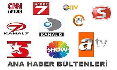 Ana Haber Bültenleri - Canli Haber Tv izle