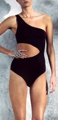 H&M traje de baño negro mujer verano 2014