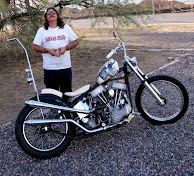1951 panhead david mann tribute