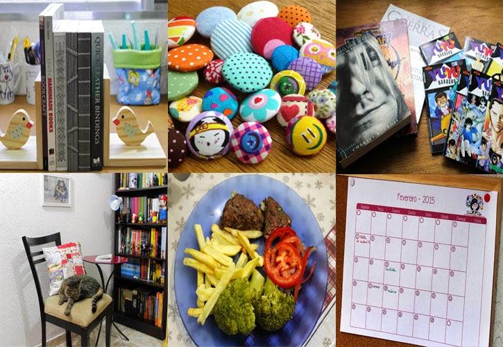 E lá se foi Fevereiro: resumo mensal / Chegou março: olha o calendário!