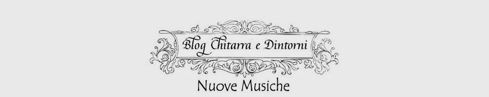 Blog Chitarra e Dintorni Nuove Musiche