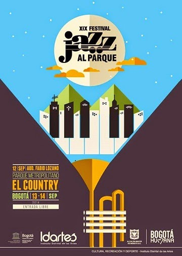 Cartel  de Jazz al Cartel 2014