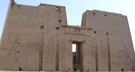 Teks Mesir Kuno Di Dinding Kuil Edfu