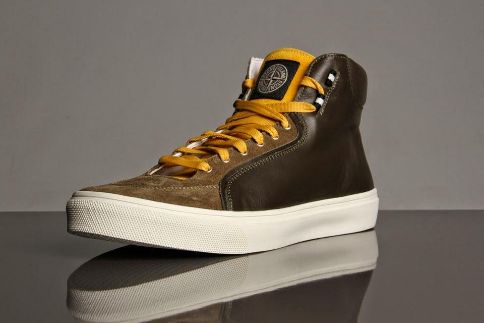 Stone Island X Diemme High Top Sneaker