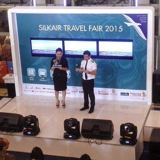 Silk Air Travel Fair 2015 di Sun Plaza Medan