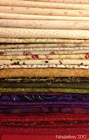 Easy Street Mystery Quilt Fabric Selection