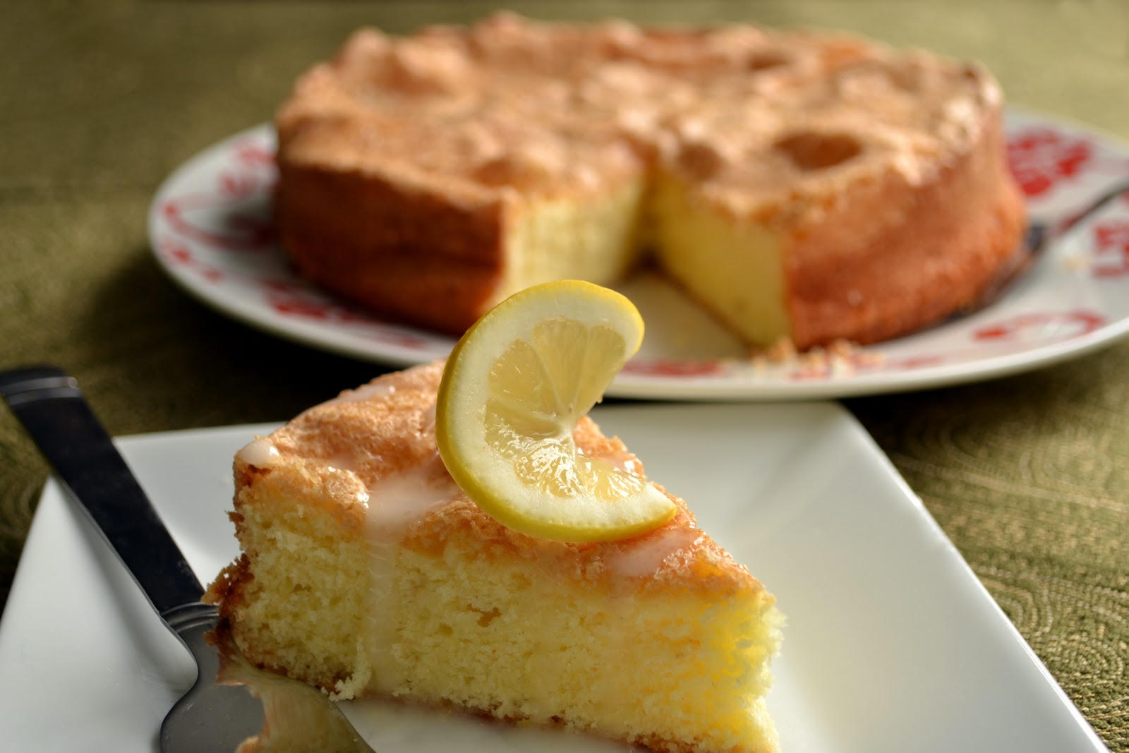 Lawyer Loves Lunch: Meyer Lemon Olive Oil Cake