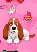 Уборка за собаками - Онлайн игра для девочек