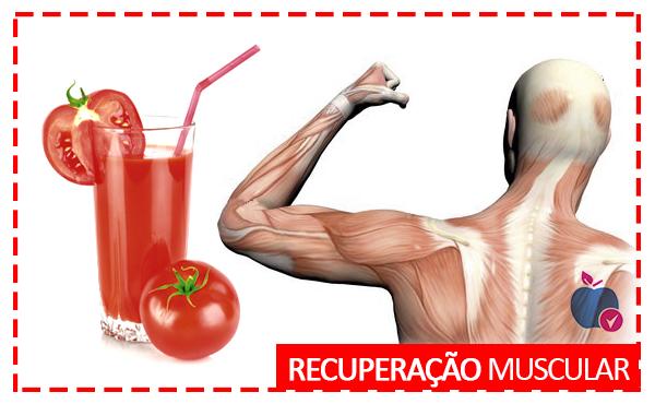 Tomate Ajuda na Recuperação Muscular