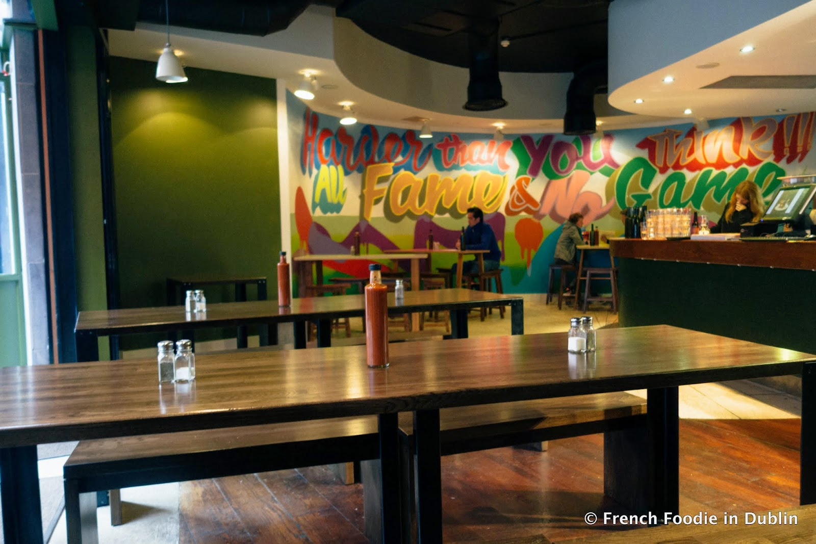 The greenhouse restaurant dublin - The Restaurant Has Many Outdoor Seats A One Hour Limit Applies When It S Busy And Is Rather Spacious And Bright Inside Apart From Some Giant Graffiti On