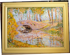 BRIDGE IN POINTILISM