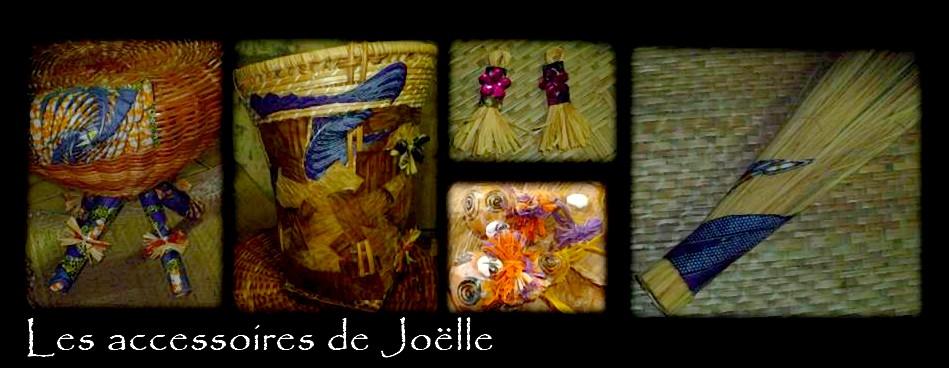 Les accessoires de Joëlle