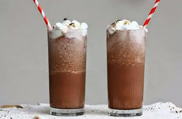 Resep Cara Membuat Frozen Hot Chocolate Tea Enak