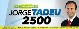 """""""Deputado Federal e Presidente Estadual do Democratas-SP JORGE TADEU"""""""