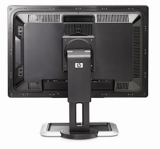 HP Dreamcolor LP2480zx Professional LCD IPS Monitor Back